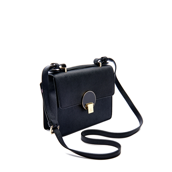 d56eee88e81 Vivienne Westwood Women's Opio Saffiano Leather Small Shoulder Bag - Black:  Image 3