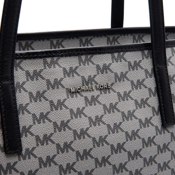 427d30aea8f5c0 MICHAEL MICHAEL KORS Women's Emry Large Top Zip Tote Bag - Black: Image 4