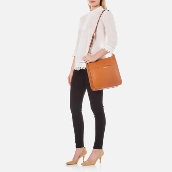 9541805b6c8b4f MICHAEL MICHAEL KORS Women's Sullivan Large North South Messenger Bag -  Luggage: Image 2