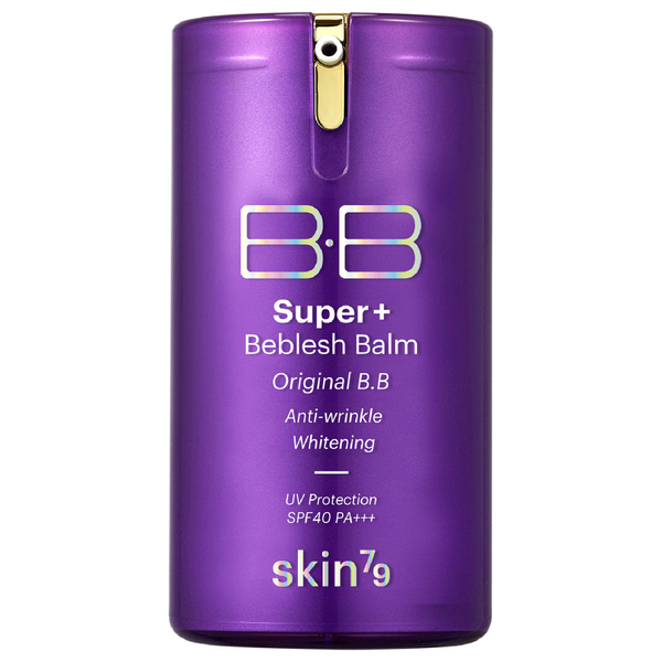 Skin79 Super Plus Beblesh Balm SPF40 PA+++ 40g - Purple