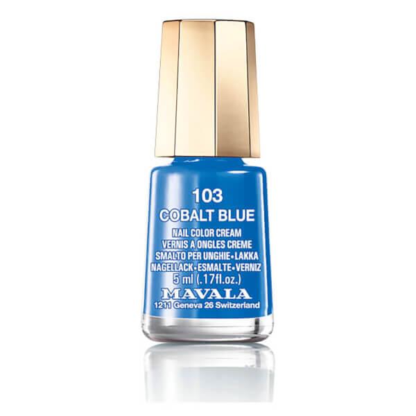 Mavala Nail Polish - 103 Cobalt Blue
