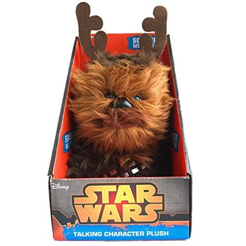 Star Wars Chewbacca Christmas Talking Plush (Medium 9