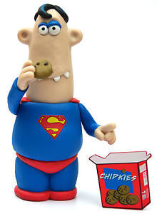 DC Comics Figure - Superman x Aardman