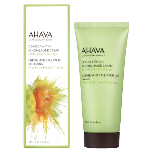 AHAVA Mineral Moringa and Prickly Pear Hand Cream 3.4oz
