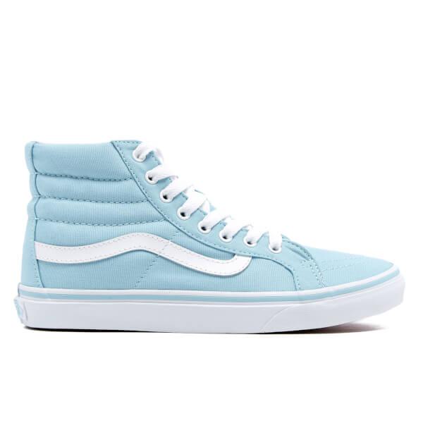 Vans Women s Sk8-Hi Slim Hi-Top Trainers - Crystal Blue True White ... c989e4b7af