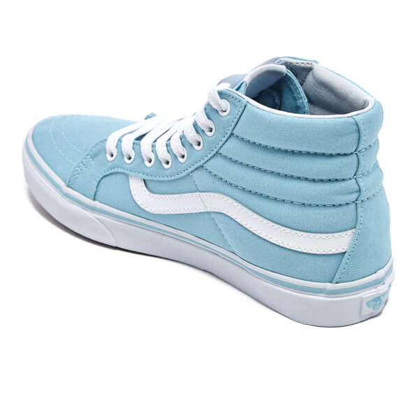 106e95b865 Vans Women s Sk8-Hi Slim Hi-Top Trainers - Crystal Blue True White ...