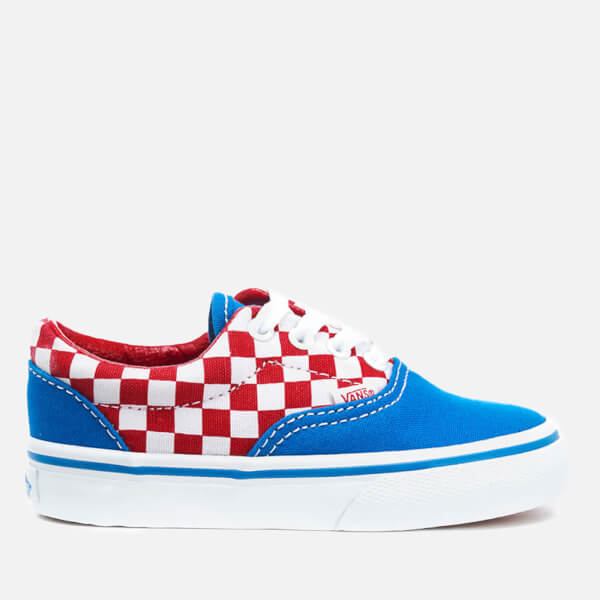 vans checkerboard racing red