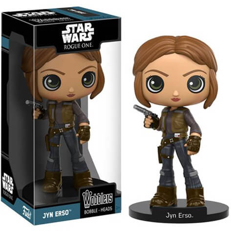 Star Wars Rogue One Jyn Erso Bobble Head