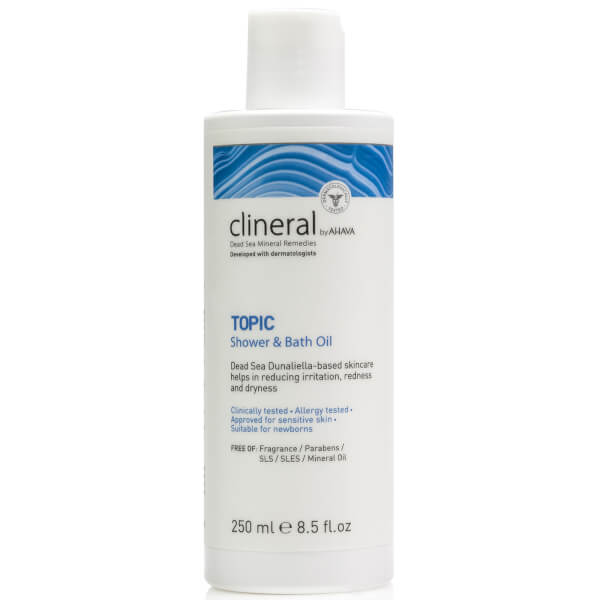 CLINERAL TOPIC Shower and Bath Oil 250ml