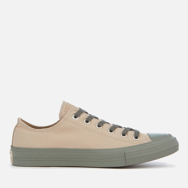 0239c80dcfc7 Converse Men s Chuck Taylor All Star II OX Trainers - Vintage Khaki Olive  Submarine