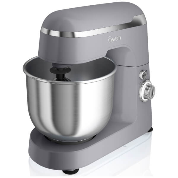 Swan Retro Stand Mixer - Grey