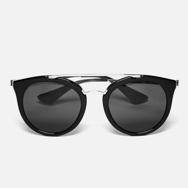 Prada Women's Cinema Sunglasses - Gunmetal/Black