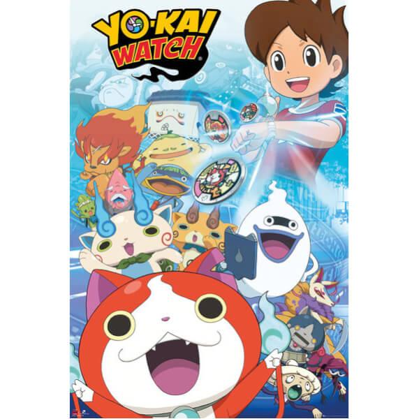 Yo-Kai Watch Key Art Maxi Poster - 61 x 91.5cm
