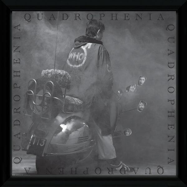 The Who Quadrophenia Framed Album Cover - 12