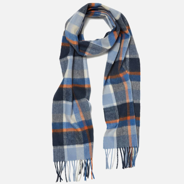 Barbour Country Plaid Scarf - Arctic