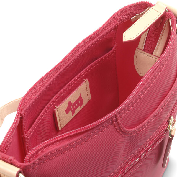 14d31affa2 Radley Women s Pocket Essentials Small Zip Top Cross Body Bag - Pink  Image  3
