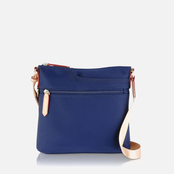 Radley Women's Pocket Essentials Small Zip Top Cross Body Bag - Navy