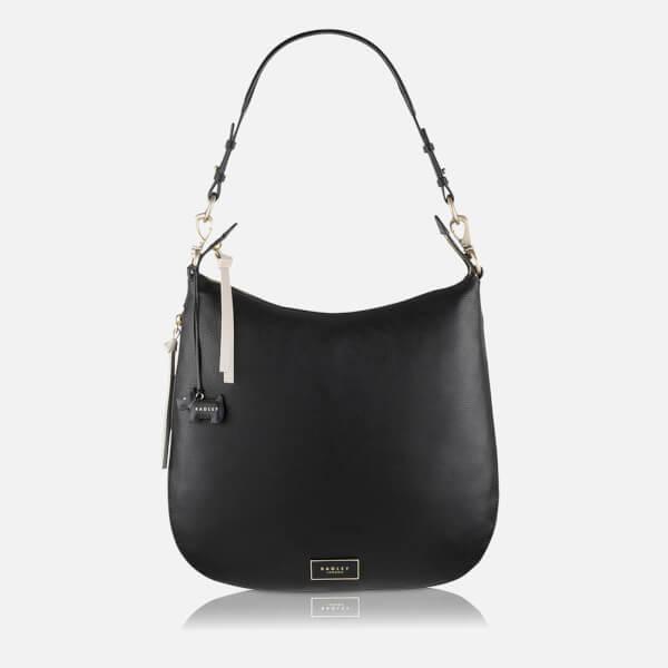 Radley Women's Pudding Lane Large Zip Top Hobo Bag - Black