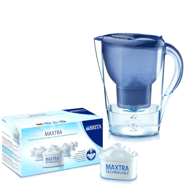 brita marella xl cool water filter jug blue 3 5l. Black Bedroom Furniture Sets. Home Design Ideas