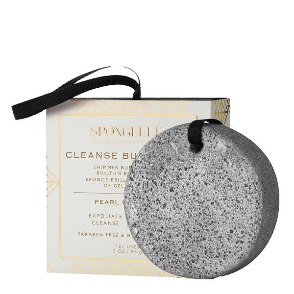 Spongellé Shimmer Body Wash Infused Buffer - Pearl Blossom