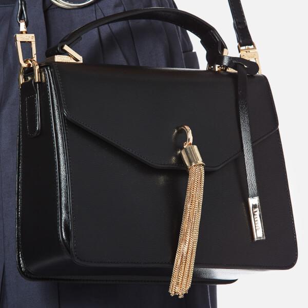 32ce41904ded Dune Women s Delina Tassel Box Bag - Black  Image 3