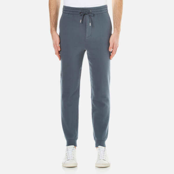T by Alexander Wang Men's Vintage Fleece Sweatpants - Steel