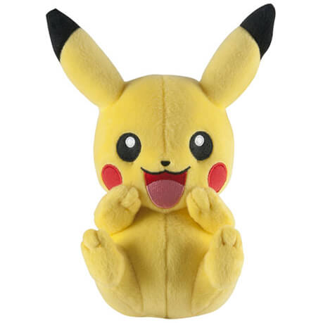 Peluche Pikachu Rit Pokémon -20cm