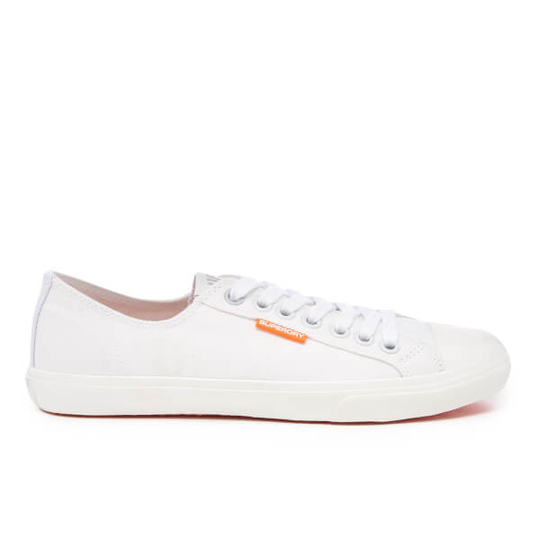 Superdry Men's Low Pro Sleek Sneaker Trainers - White