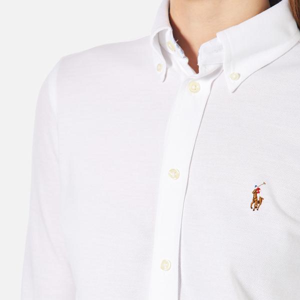 Polo Ralph Lauren Women 39 S Oxford Shirt Dress White