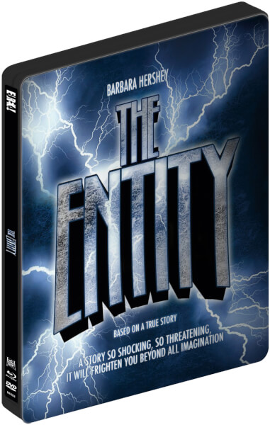 The Entity - Dual Format Zavvi Exclusive Limited Edition Steelbook (Includes DVD)