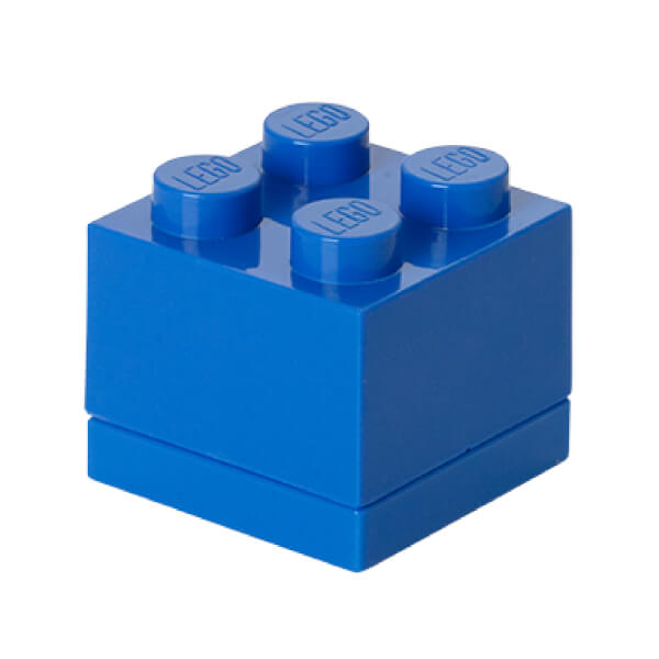 LEGO Mini Box 4 - Bright Blue