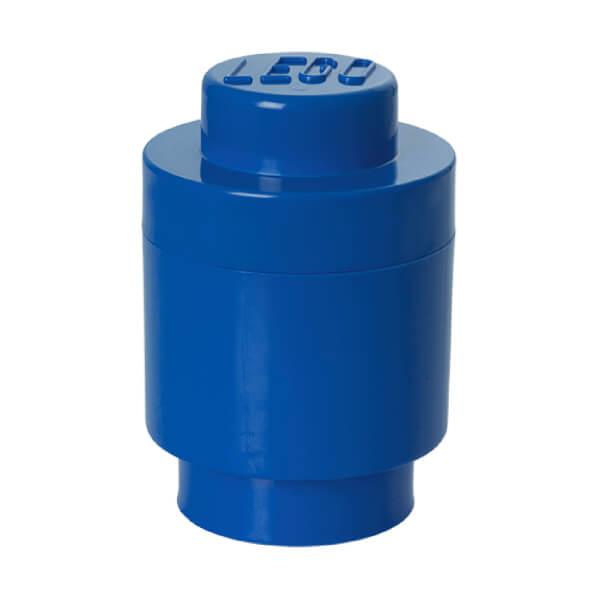 LEGO Storage Brick 1 - Bright Blue (Round)