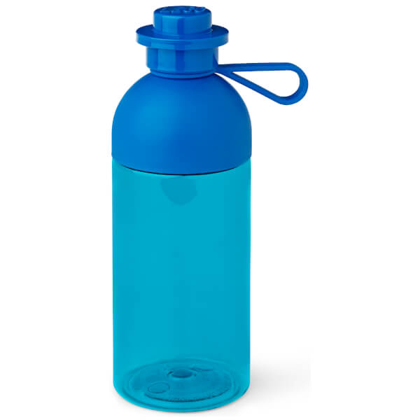 LEGO Hydration Bottle 0.5L - Transparent Bright Blue
