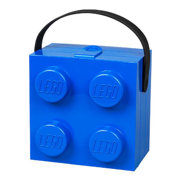 LEGO boîte à Déjeuner lunchbox Avec Poignée -Bleu