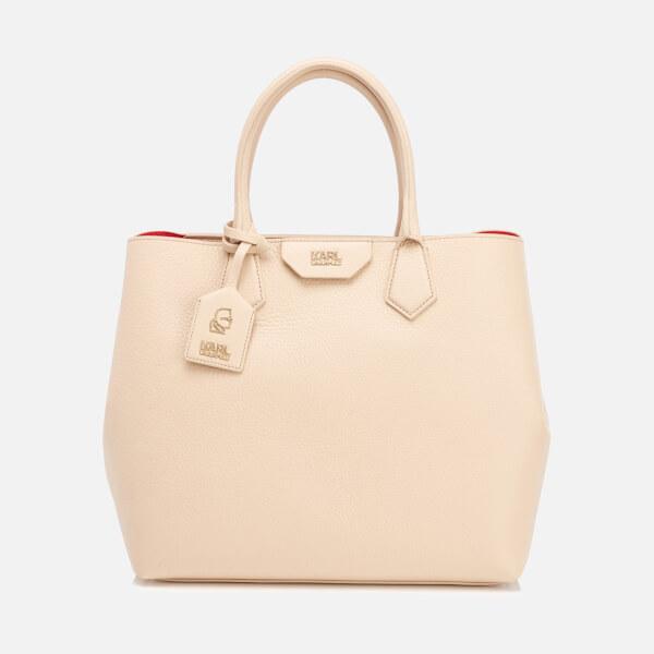 Karl Lagerfeld Women's K/Grainy Shopper Bag - Biscuit