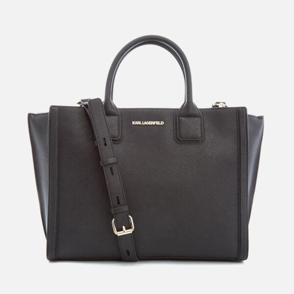Karl Lagerfeld Women S K Klik Office Tote Bag Black Image 1