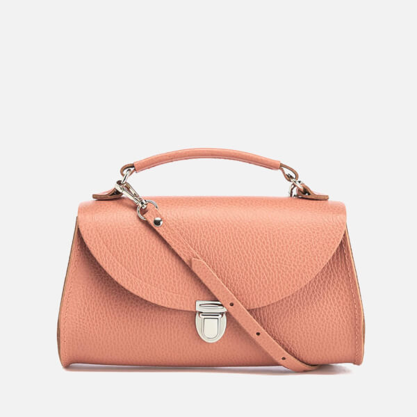 The Cambridge Satchel Company Women's Exclusive Mini Poppy Bag with Stamp - Terracotta Grain