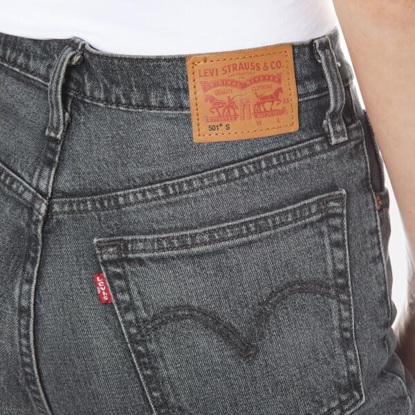 levi 39 s women 39 s 501 skinny jeans black coast free uk delivery over 50. Black Bedroom Furniture Sets. Home Design Ideas