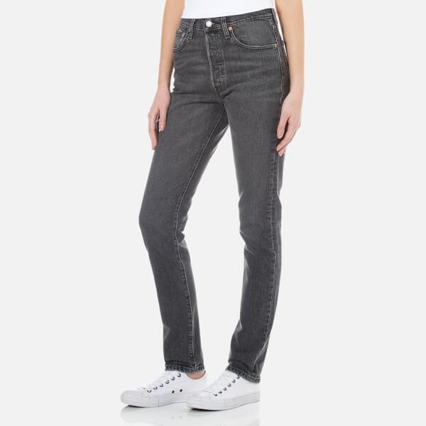 levi 39 s women 39 s 501 skinny jeans black coast clothing. Black Bedroom Furniture Sets. Home Design Ideas