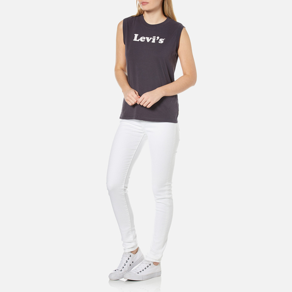 Levi's Rise Clothing 721 Western Jeans Women's Skinny White High rwCrAq