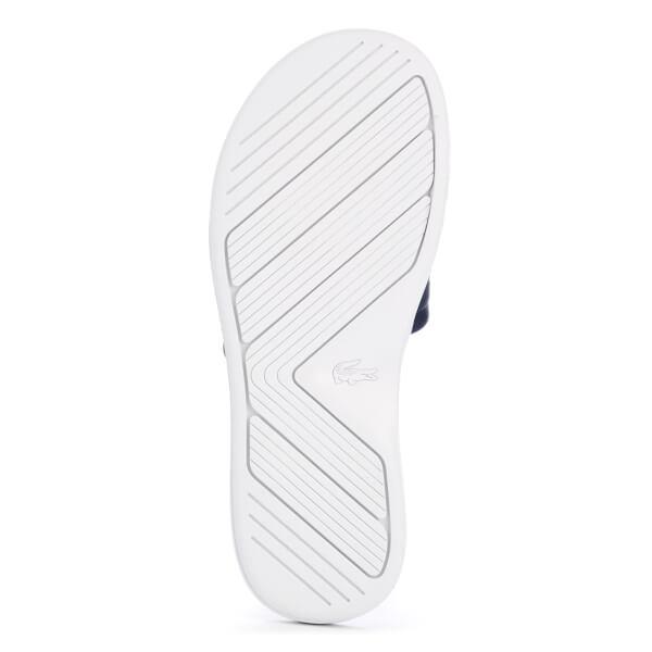 cbc3fd69c0912 Lacoste Women s L.30 Slide 117 1 Slide Sandals - Navy Womens ...