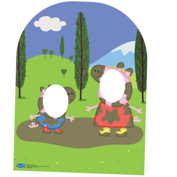 Passe-Tête en Carton Enfant Peppa Pig