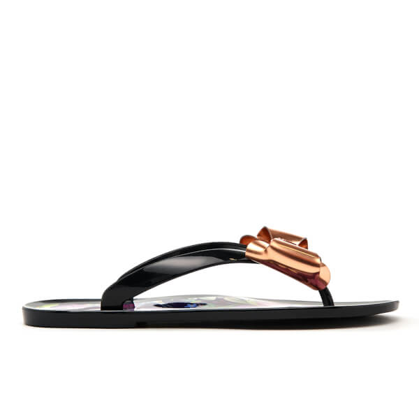 a9f7e90a20a1cf Ted Baker Women s Rueday PVC Flip Flops - Entangled Enchantment  Image 1