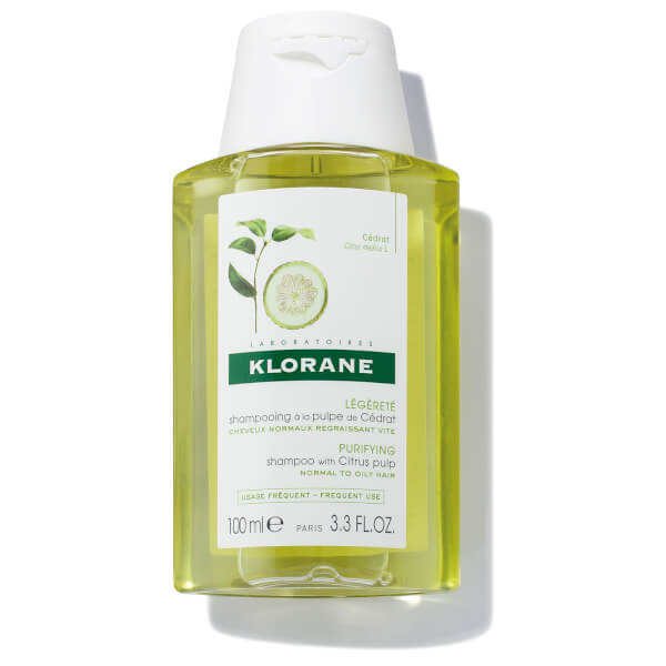 KLORANE Shampoo with Citrus Pulp - 3.38 fl. oz.