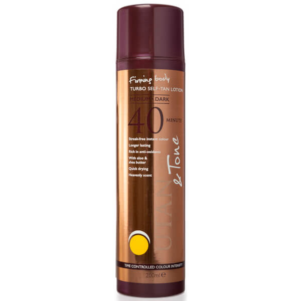 UTAN & Tone Time Controlled Turbo Tan 200ml