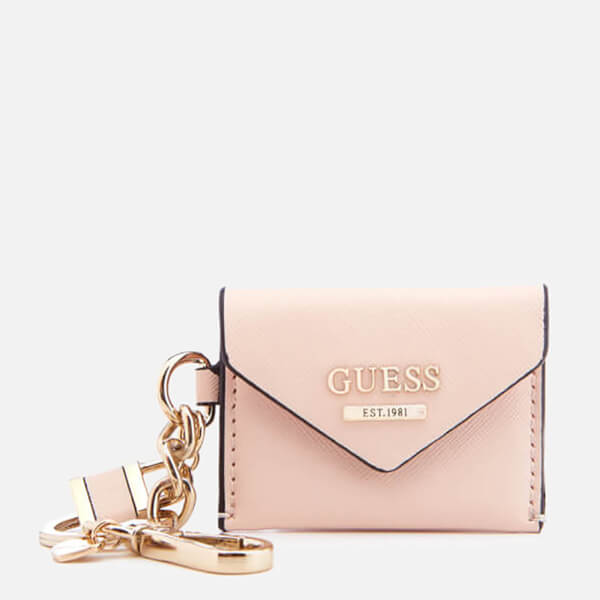 6130af7d56 Guess Women s Gia Envelope Keychain - Cameo Womens Accessories ...