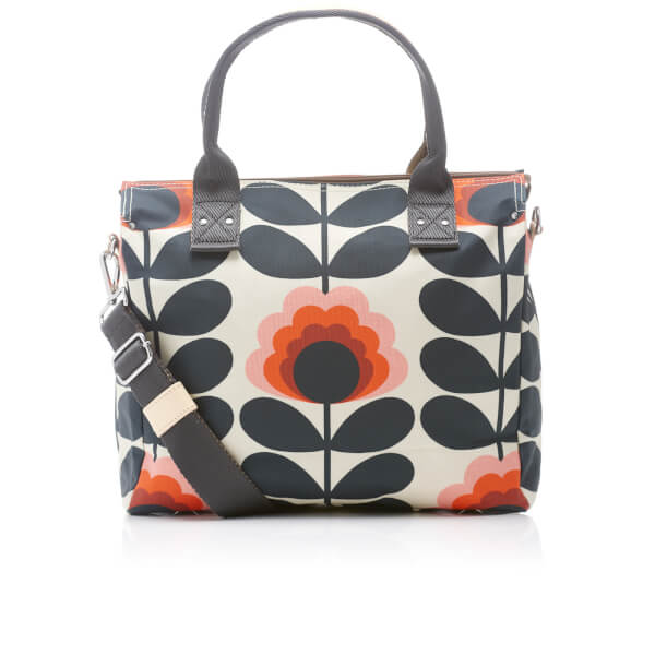bd5414f526b Orla Kiely Women s Sunset Zip Messenger Bag - Sunset  Image 1