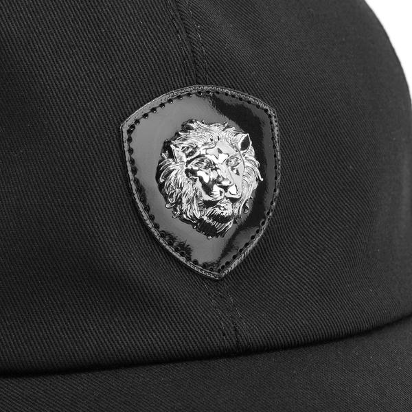 5a3a333c41c Versus Versace Men s Lion Logo Cap - Black  Image 4