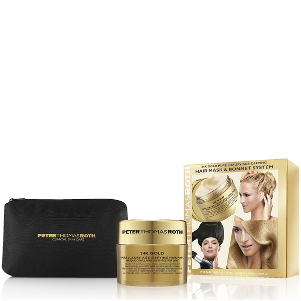 Peter Thomas Roth 24K Gold Hair Mask with Bonnet System