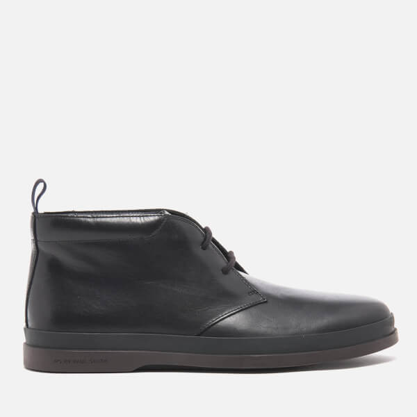 PS by Paul Smith Men's Inkie Leather Chukka Boots - Black